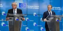 Jean-Claude Juncker and Donald Tusk © EU