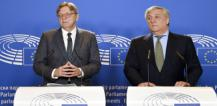 Guy Verhofstadt and Antonio Tajani © EU