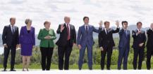 G7 family photo © EU