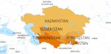 Map of Central Asia © EU