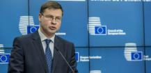 Valdis Dombrovskis, Vice-President of the European Commission in charge of the Euro and Social Dialogue © EU