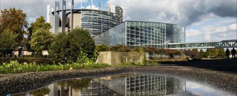 European Parliament building in Strasbourg © EU