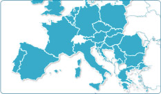Click to enlarge the map of Europe