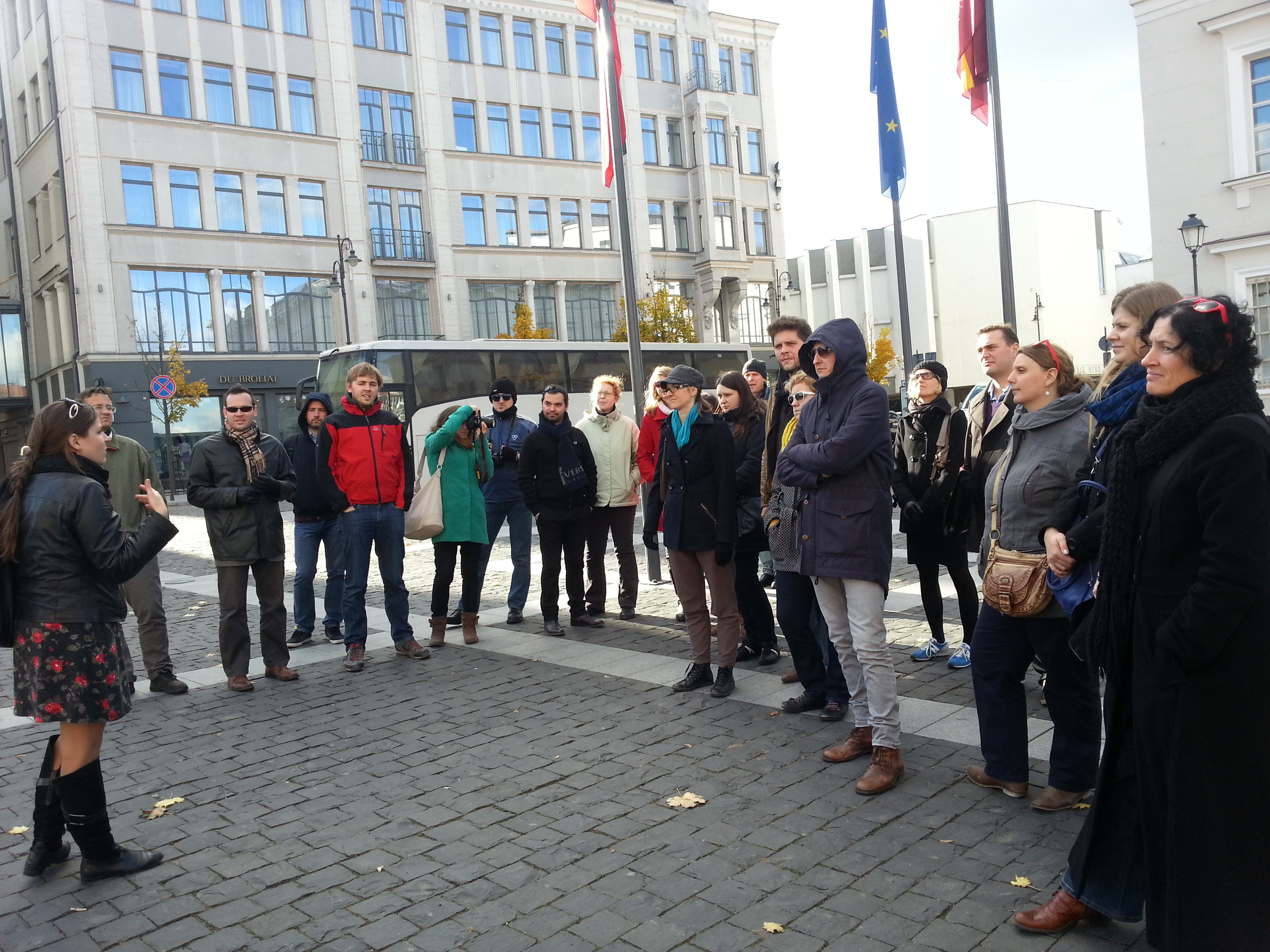 Guided tour in Vilnius