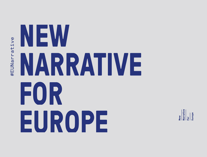 New Narrative for Europe title graphic
