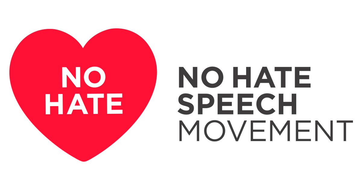 Logo - No Hate Speech Movement