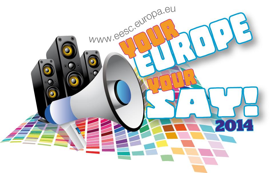 Your Europe, Your Say Logo