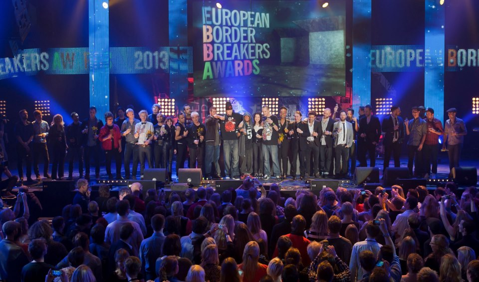 European Border Breakers Awards 2013