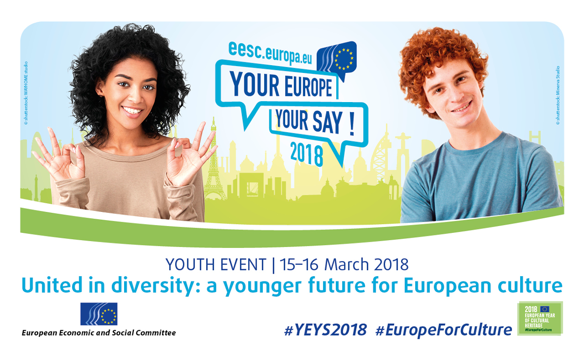 Your Europe, Your Say (YEYS) 2018! | European Youth Portal