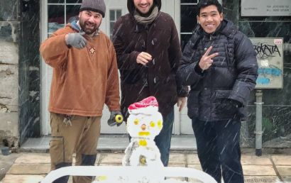 My First Snowman in Life