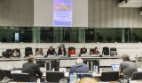 Speakers at the public hearing. @EESC2017